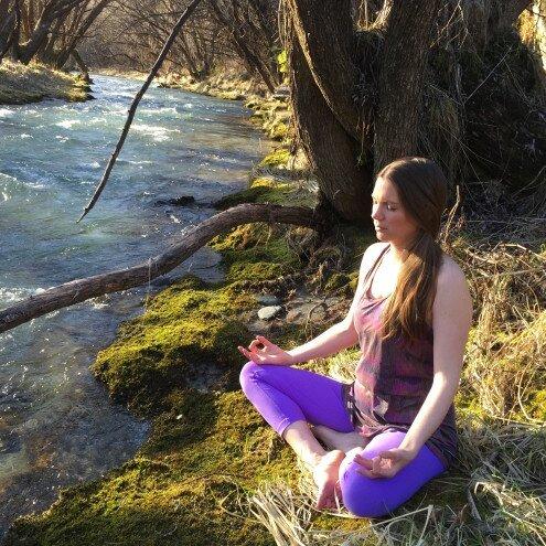 Meditation on the Awaken me Retreat in Queenstown