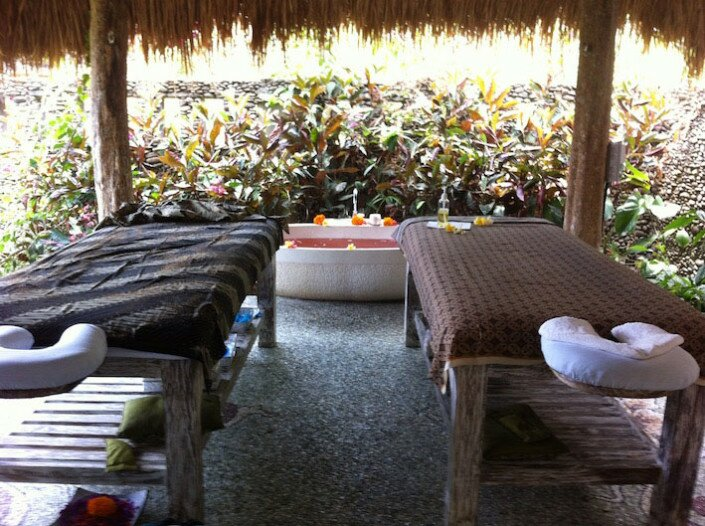 Massage Table for Bali Yoga Retreat